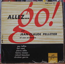 JEAN CLAUDE PELLETIER/GUY LAFITTE ALLEZ.. GO! FRENCH EP JAZZ STARS SERIES