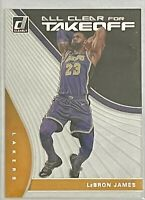 2019-20 Donruss Clearly Basketball LeBron James All Clear for Takeoff ACETATE!