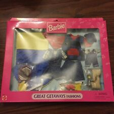 Barbie Great Getaways Fashions # 68646 1997 Mattel Unopened Sealed