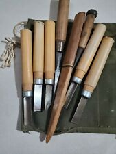 wood carving tools used