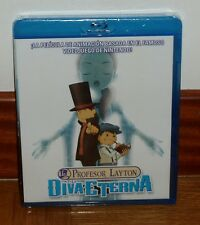 PROFESSORE LAYTON Y LA DIVA ETERNA-BLU-RAY-NUEVO-PRECINTADO-NEW-SEALED-ANIMACION