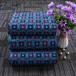 1Yard African Batik  Fabric Floral African DIY Dress Clothing Sewing Decor Craft