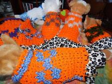 Dog Apparel BLUE SKY PUPPY FAME Prints Dress w/RUFFLES MED
