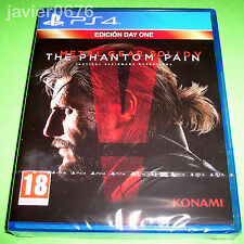 METAL GEAR SOLID V THE PHANTON PAIN NUEVO Y PRECINTADO PAL ESPAÑA PLAYSTATION 4