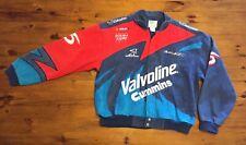 Vintage Nascar Mark Martin Valvoline Cummins Exclusive Racing Jacket Large Ford