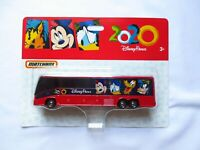 Walt Disney World Parks Matchbox Dated 2020 Bus Car AUTHENTIC COLLECTIBLE NEW