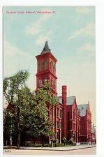 Antique Columbus, OH Postcard - Central High School - Posted