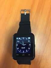 SMART WATCH FOR ANDROID & IPHONE,SAMSUNG,HTC,AU(NEW) Black