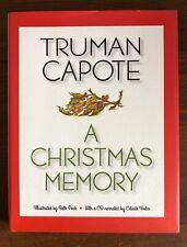 Truman Capote A CHRISTMAS MEMORY HB/DJ with CD Beth Peck