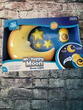 Uncle Milton 2341 Happy Moon Stars Baby Bedroom Decor Room Wall Night Light