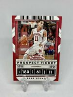Trae Young 2020 Panini Contenders Draft Picks Prospect Ticket #23