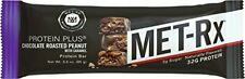 MET-Rx Protein Plus Bar Gluten Free Chocolate Roasted Peanut Caramel (9 Count)