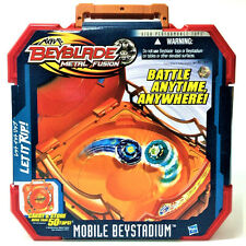Hasbro Beyblade METAL FUSION Mobile Beystadium LET IT RIP TOMY Figure Boy Toy