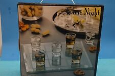 Clear Glass Game Night - Tic-Tac-Toe Shot Glass Game Set