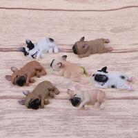 French bulldog sleepy corgis dog toys action figures pvc model toy~doll kid g fz