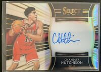 2018-19 Panini Select Silver Auto Prizm Chandler Hutchison RC Rookie /199