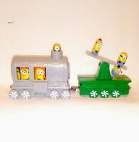 McDonalds happy meal toy Holiday Express Train 2017 Minions