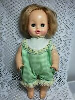 "Vintage Horsman Doll Soft Rubber Sleepy Eyes 13"" Blonde"