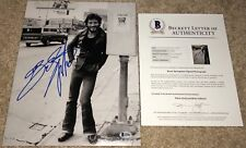 BRUCE SPRINGSTEEN SIGNED 11x14 PHOTO BORN TO RUN IN USA BROADWAY BECKETT BAS