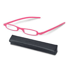 +1.50 Diopter SlimViews Reading Glasses - Bubble Gum Spectacles, Cheaters, Specs