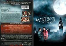 An American Werewolf in London ~ Dvd ~ David Naughton (1981) Uphe