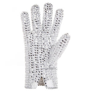 MJ Michael Jackson Billie Jean Ultimate Collection Diamond Gloves Doulble Side