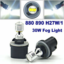 2x White 6000K 30W LED Driving Lamps 880 890 H27W/1 885 Car Fog Light CANBUS