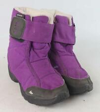 Quechua Girls UK Size 10.5 Purple Winter Boots