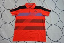 🔥Tuscany Golf Club Athletic Adidas Polo Shirt  Orange Short Sleeves Large🔥B2🔥