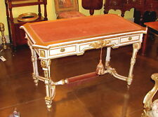 Antique French Louis Xvi Style Painted Desk Circa 1860