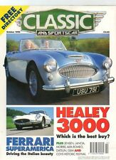 CLASSIC AND SPORTS CAR MAGAZINE - October 1995
