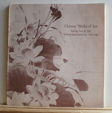 Sotheby's Chinese Works of Art Catalog 6/20/1978 Jade Textiles Ceramics Painting