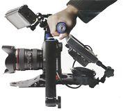 Pro DSLR Rig Shoulder Mount Support System Stabilizer Follow Focus for DV Video