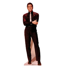 ELVIS PRESLEY Young Black Suit Lifesize CARDBOARD CUTOUT Standup Standee Poster