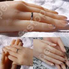 1 Pair Hands Female Girl Displays Model Mannequin Realistic Silicone Two hands