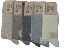 Damen Herren  ANGORA Socke Wollsocken mit Angora Schurwolle warm Gr. 35-46