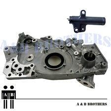 Fit CT9A Lancer EVO VII Evolution 7 4G63T Turbo Oil Pump Kit + H.Tensioner + RTV