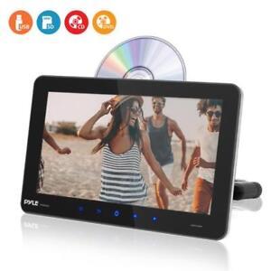 Pyle Touchscreen CD/DVD Player, Vehicle Headrest Mount Entertainment System