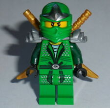 NINJAGO #10 Lego Lloyd ZX The Movie Ninja w/katana's NEW Genuine LEGO 70815