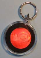 Nintendo Power Club Super Mario Bros. Hologram Key Chain NES era RARE 1989 or 90