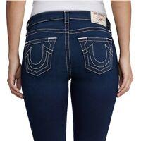 True Religion Women's Curvy Skinny Contour Stretch Jeans in Starstruck