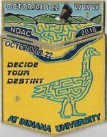 Boy Scout NOAC 2018 OA Octoraro Lodge 22 Yellow Set
