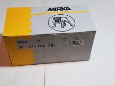 "Mirka Sandpaper Discs 400 Grit Adhesive Back ""S-Carat"" 100 Sanding Discs"