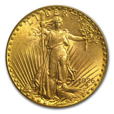 $20 Saint-Gaudens Gold Double Eagle Coin - Random Year - MS-61 PCGS - SKU #45874