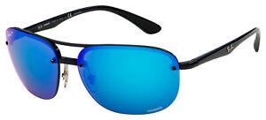 Ray-Ban Sunglasses RB 4275CH 601/A1 63 Black | Blue Mirror Chromance Polarized