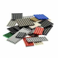 25 x Lego System Basic City Bau Platte zufällig bunt gemischte Farbe und Größen