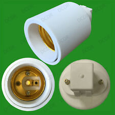 G23 To ES E27 Edison Screw Light Bulb Socket Converter Adaptor Holder