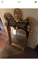 "Black And Gold DC Mirror 47"" Long X 22"" Wide X 1.5 Thick Urathane"