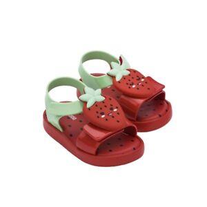MINI MELISSA SZIE 7 Jelly Avocado Child Fruit Sandals Toddler Girls Shoes US7-12
