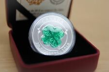 2016 $20 Four-Leaf Clover - Authentic Royal Canadian Mint Coin